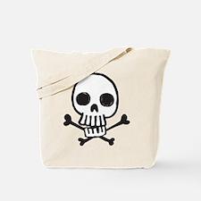 Cartoon Skull Tote Bag