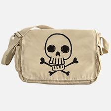 Cartoon Skull Messenger Bag