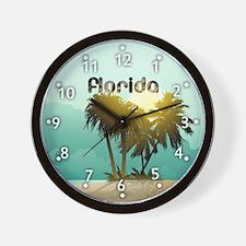 Sunshine State Wall Clock