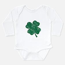 St Patrick's Shamrock Body Suit