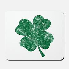 St Patrick's Shamrock Mousepad
