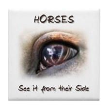 Horses Eye Tile Coaster