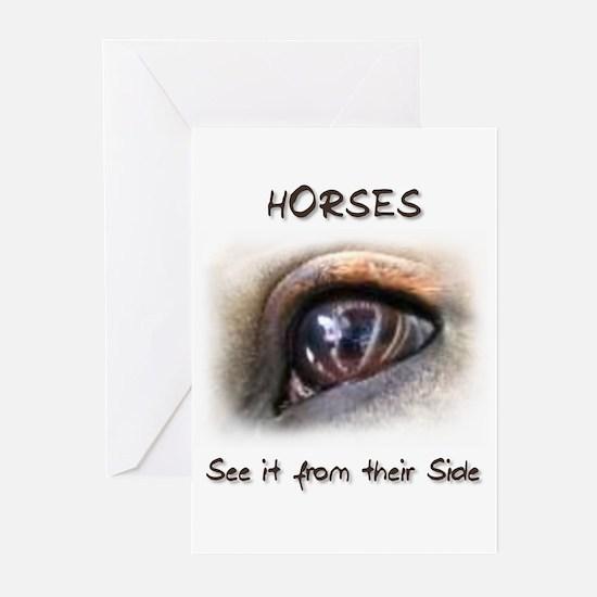 Horses Eye Greeting Cards (Pk of 10)