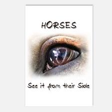 Horses Eye Postcards (Package of 8)
