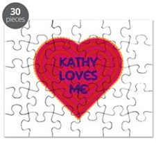 Kathy Loves Me Puzzle