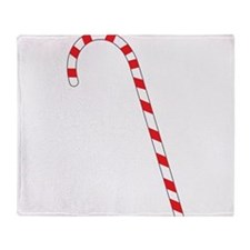 Candy Cane Throw Blanket