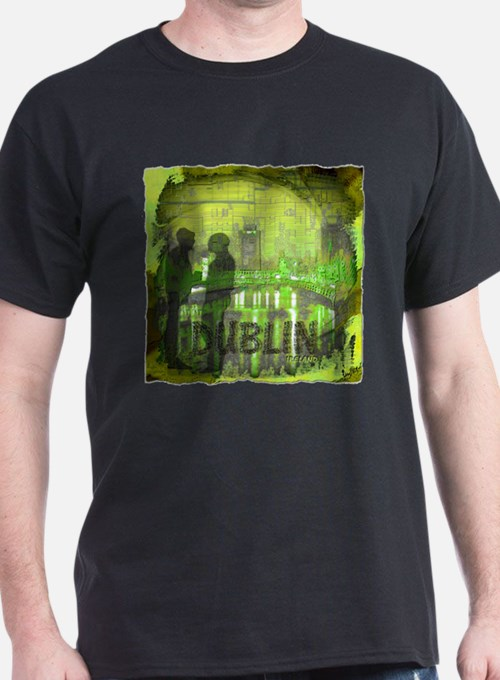dublin ireland art illustration T-Shirt