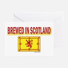 BREWED IN SCOTLAND Greeting Cards (Pk of 10)