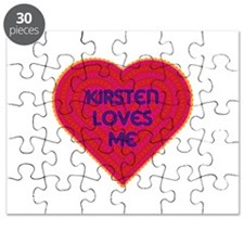 Kirsten Loves Me Puzzle