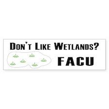 FACU Bumper Bumper Sticker