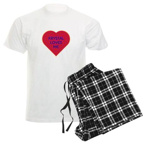 Krystal Loves Me Pajamas