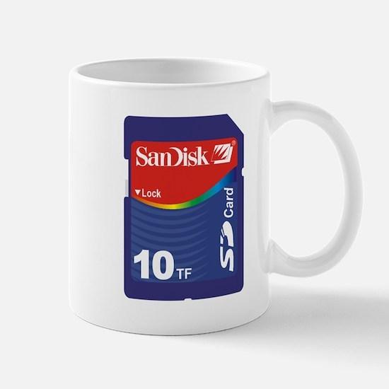 SD CARD 10TF PARODY Small Mug