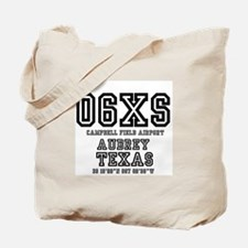 TEXAS - AIRPORT CODES - 06XS - CAMPBELL F Tote Bag