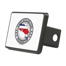 Costa Rica San Jose LDS Mission Flag Cutout Hitch