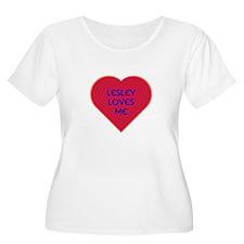 Lesley Loves Me Plus Size T-Shirt