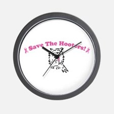 Save The Hooters! Wall Clock