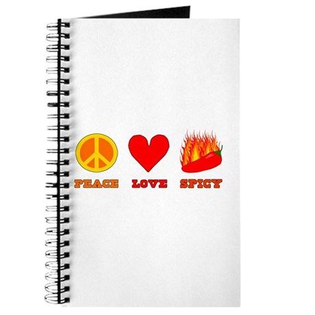 Peace Love Spicy Journal