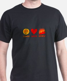 Peace Love Spicy T-Shirt