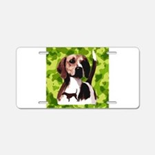 hunting hound Aluminum License Plate