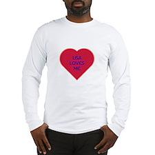Lisa Loves Me Long Sleeve T-Shirt