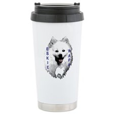 Eskie papa Travel Mug