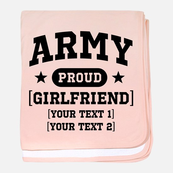 Army grandma/grandpa/girlfriend/in-laws baby blank