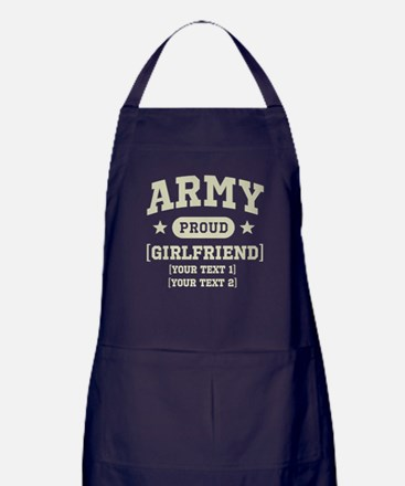 Army grandma/grandpa/girlfriend/in-laws Apron (dar