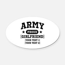Army grandma/grandpa/girlfriend/in-laws Oval Car M