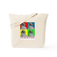 Shih Tzu Pop Art Huey Tote Bag