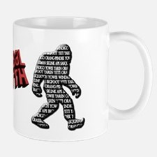 Bigfoot Sasquatch Yaren Yeti Yowie Mug
