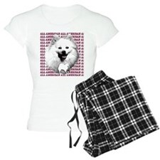 all american eskimo dog Pajamas