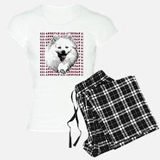all american eskimo dog Pajamas