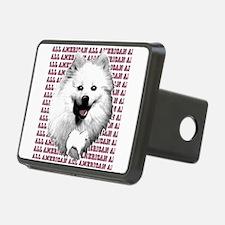 all american eskimo dog Hitch Cover