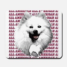 all american eskimo dog Mousepad