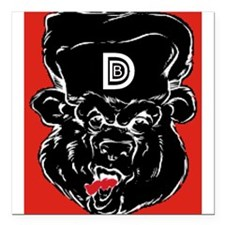 "DDB-RIS Square Car Magnet 3"" x 3"""
