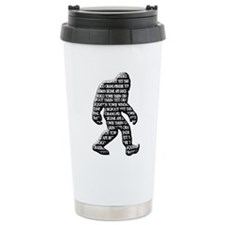 Bigfoot Yowie Sasquatch Skunk Ape Yeti Travel Mug