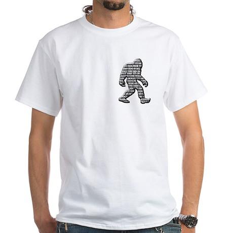 Bigfoot Yowie Sasquatch Skunk Ape Yeti T-Shirt