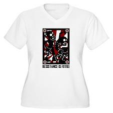 Resist the Zombie Plus Size T-Shirt
