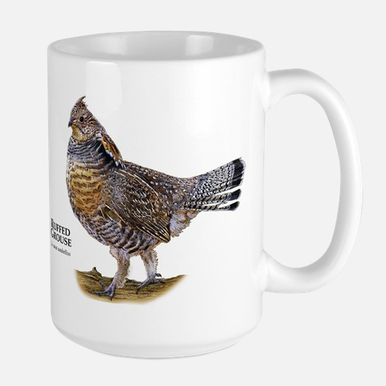 Ruffed Grouse Large Mug