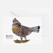 Ruffed Grouse Greeting Card