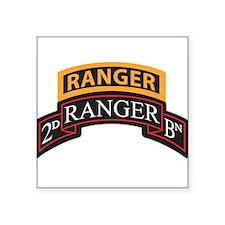 2D Ranger BN Scroll with Rang Rectangle Sticker