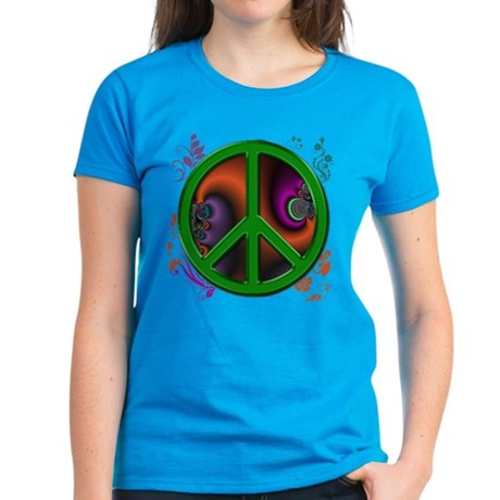 Peace symbol (green) T-Shirt