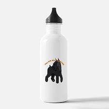 giant schnauzer, schnauzer Water Bottle