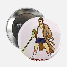 "The Sunday-Morning Warrior 2.25"" Button"