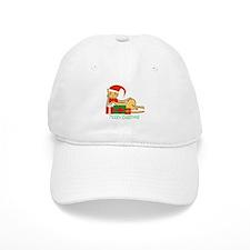 Santa cat - Baseball Cap