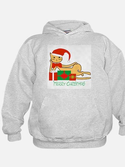 Santa cat - Hoodie