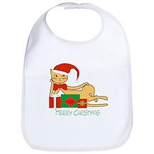 Santa cat - Bib