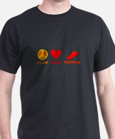 Peace Love Peppers T-Shirt