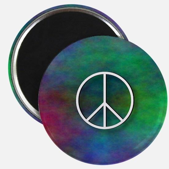 Peace Tie Dye Magnet