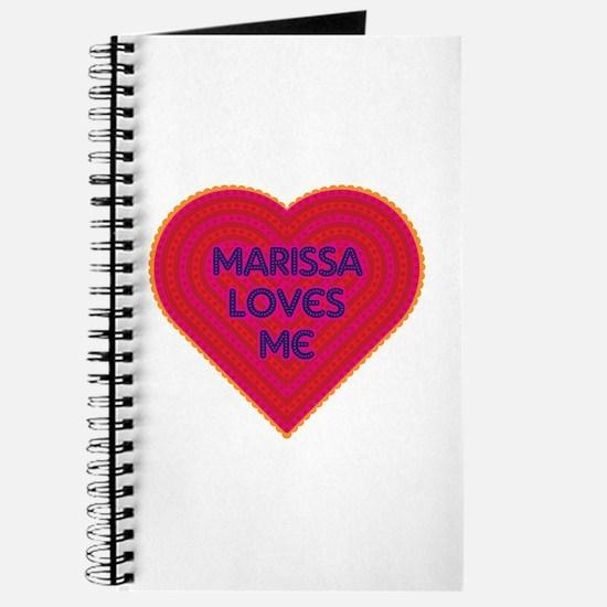 Marissa Loves Me Journal
